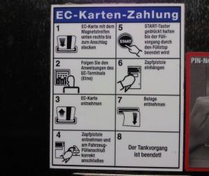 Anleitung Autogas Tanken
