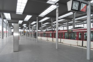 Bahnhof Esprit Arena Düsseldorf