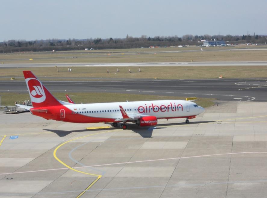 Flughafen Düsseldorf Besucherterrasse