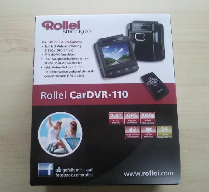 Rollei DVR-110 Dash Cam