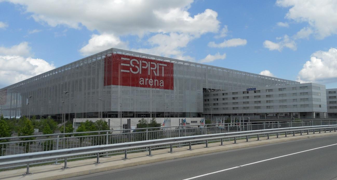Esprit Arena in Düsseldorf Stockum