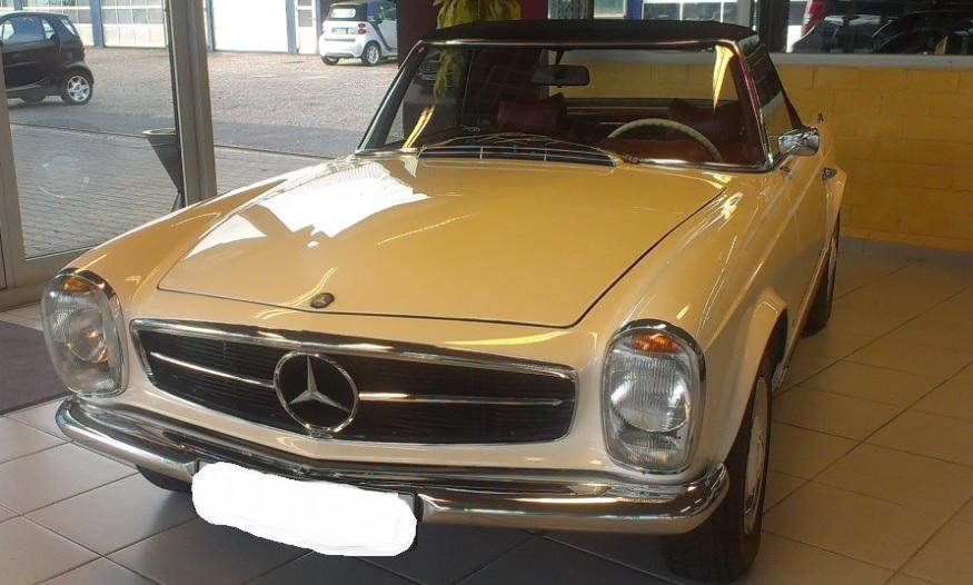 Mercedes Oldtimer als Wertanlage