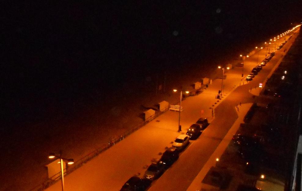 Ohne Strom bleibt der Strand dunkel